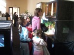 Stupini Kids at Reptiles Visit