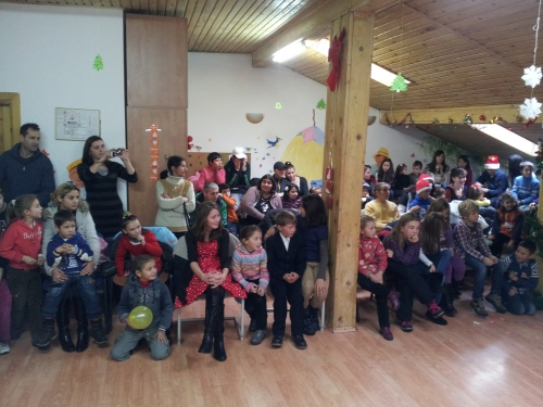 A packed house enjoyed the Christmas Party