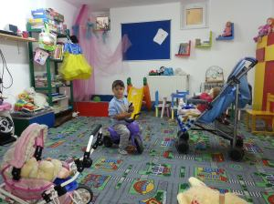A beautiful room for the creche